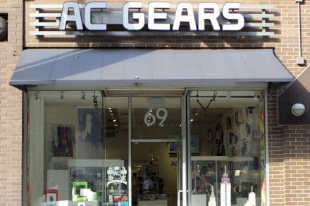 AC Gears store front
