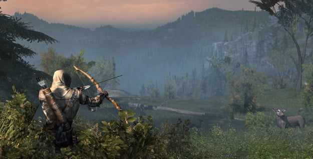 Assassin's Creed III hunting