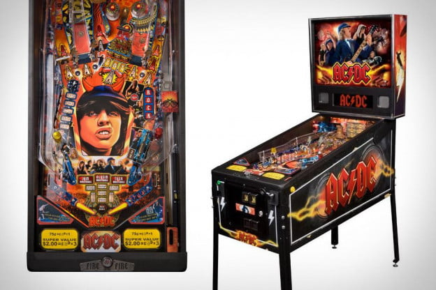 AC DC Pinball Machine by Stern Pinball