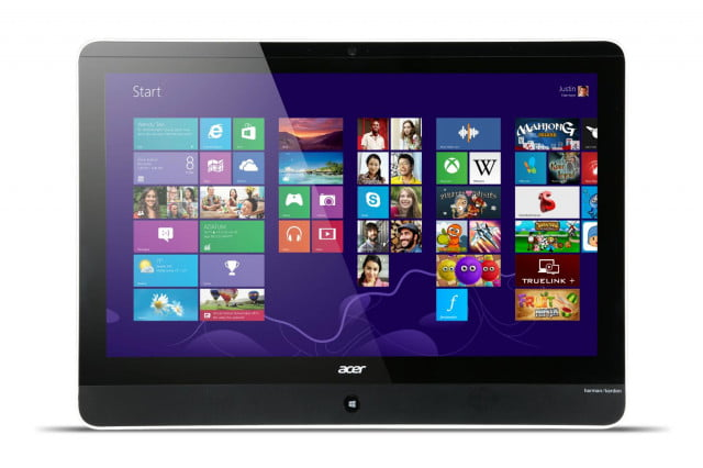 acer takes wraps new  inch sub aio pc aspire az straight on ( )