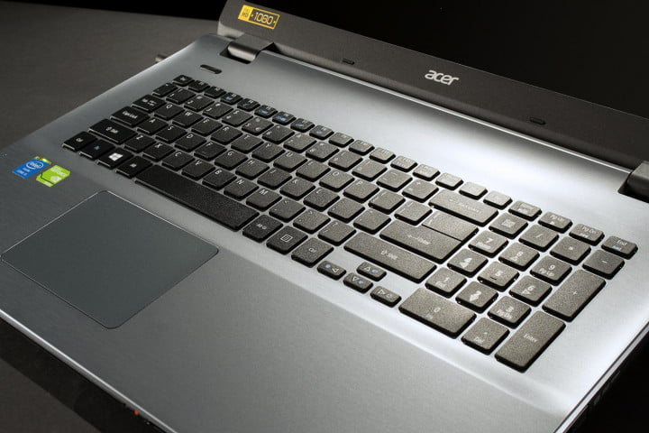 acer aspire e  g t review top keyboard full