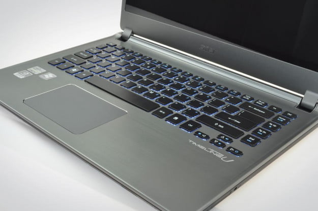 Acer Aspire M5 Review backlit keyboard intel ultrabook