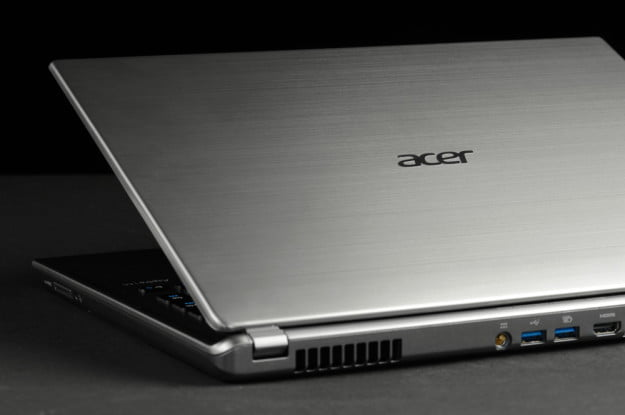 Acer Aspire M5 Touch Review design