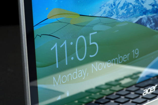 Acer Aspire M5 Touch Review display angle