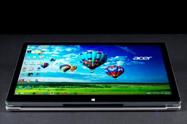 Acer Aspire R7 screen flat