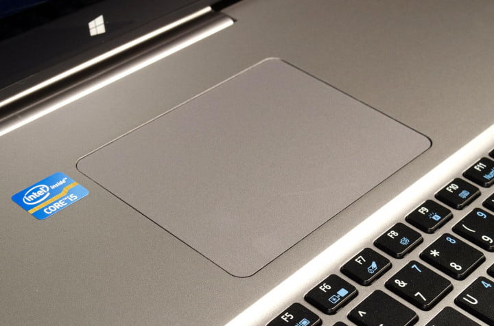 acer aspire r  review trackpad macro