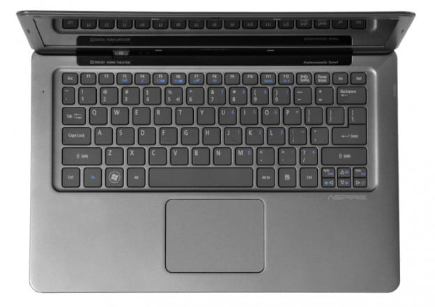 Acer-Aspire-S3-keyboard-touchpad