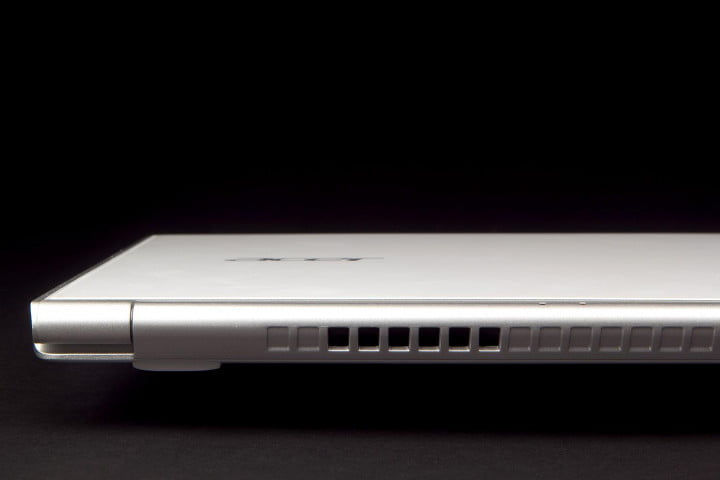 acer aspire s  review back vent