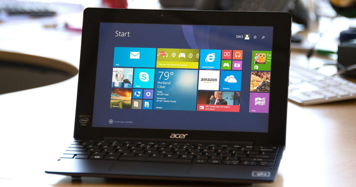 Anleitung acer aspire switch 10