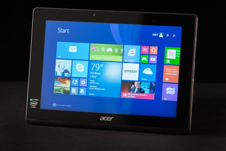 acer aspire switch  e review tablet mode