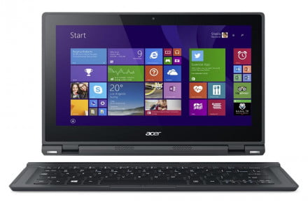 Acer Aspire Switch 12 SW5-271 with keyboard forward win 8