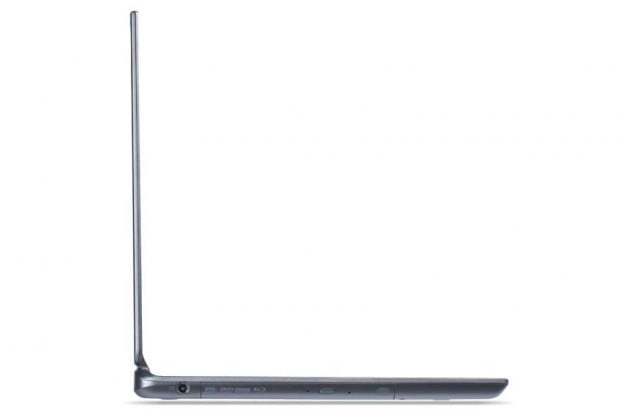 Acer Aspire Timeline Ultra M5 side profile thin ultrabook