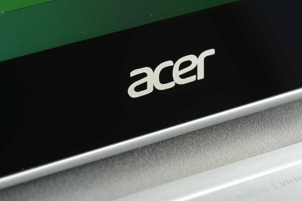 Acer Aspire V5 Touch Review acer logo screen