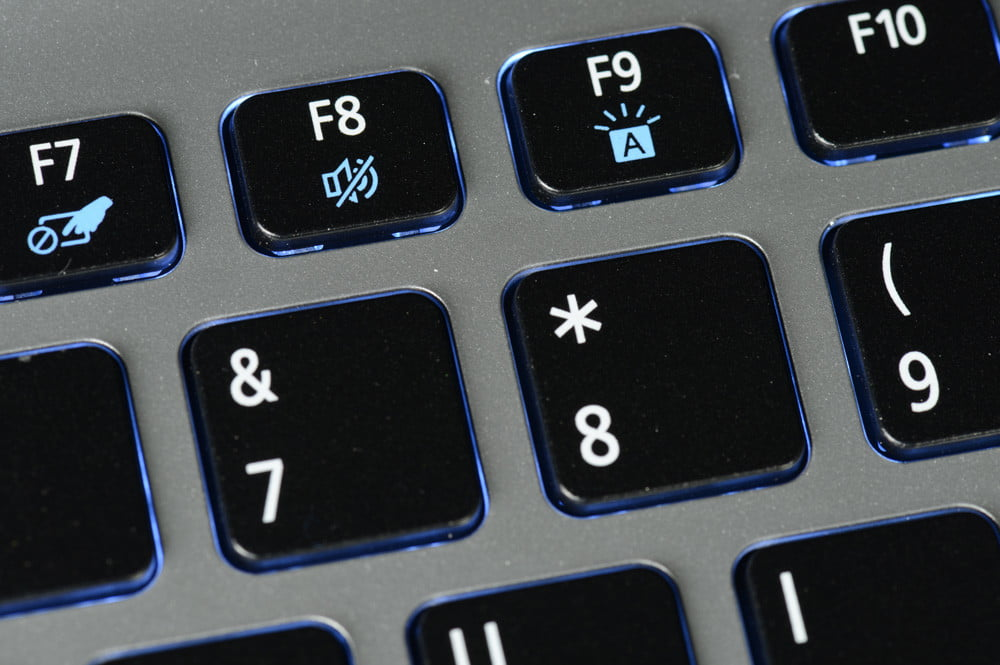 Acer Aspire V5 Touch Review keyboard backlighting