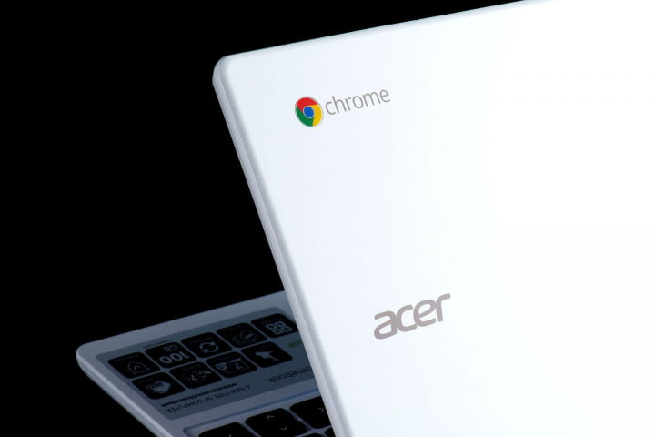 acer c  p review chromebook chrome logo