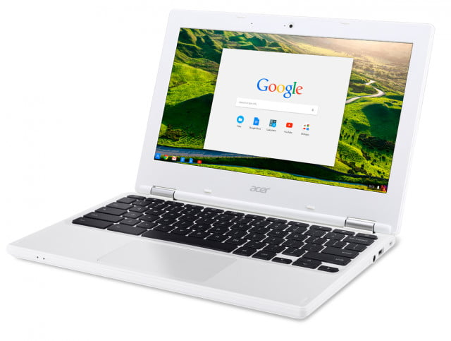 google chromeook germany refugee acer chromebook  cb left facing
