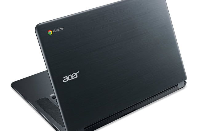 acer chromebook  hours battery life cb rear facing left