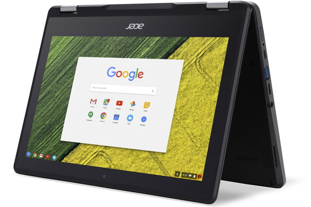 acer introduces chromebook spin  for education market