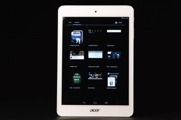 Acer Iconia A1-830 front