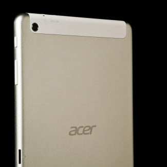 Acer Iconia A1-830 rear left angle