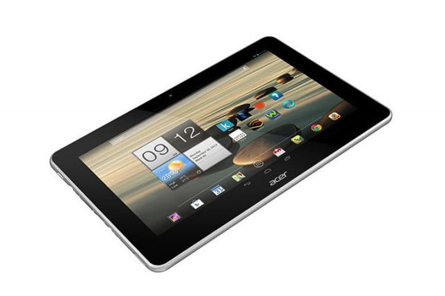 acer iconia a  android tablet announced