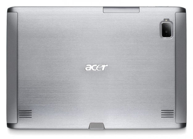 acer iconia rear view