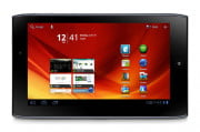 toshiba excite  review acer iconia tab a horizontal screen