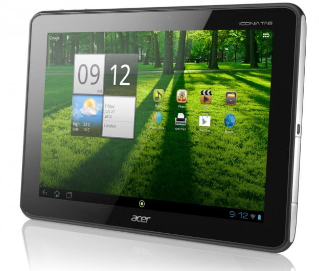 Acer Iconia Tab A700 high resolution screen
