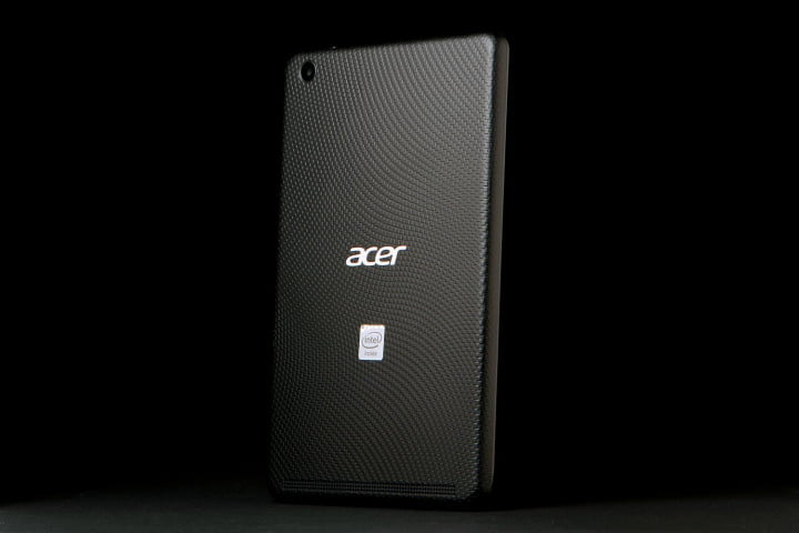 acer iconia one  review iconic back left angle