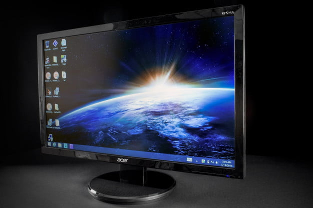 Acer K272HUL review monitor angle