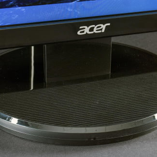 Acer K272HUL review monitor stand front