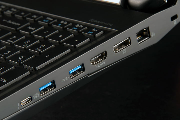 acer predator  review right ports