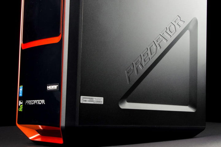 acer ag  ur review predator bottom angle