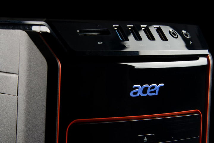 acer ag  ur review predator front top angle