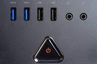 acer predator ag3620 ur12 gaming desktop ports and power button macro