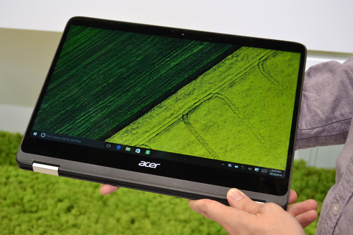 acer spin  hands on