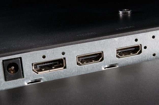Acer TA272HUL review hdmi ports