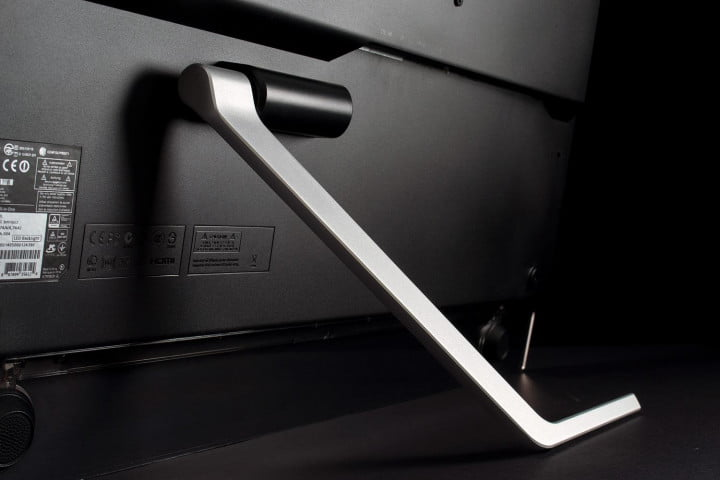 Acer TA272HUL review rear stand