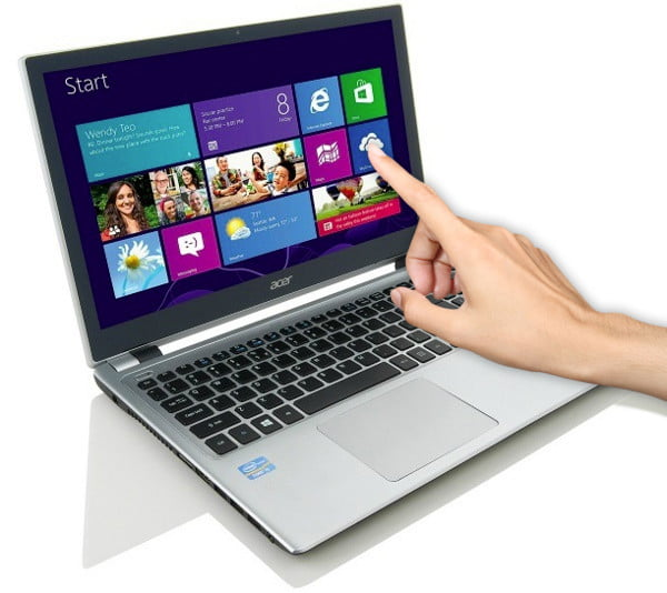 Acer windows 8 touchscreen laptop