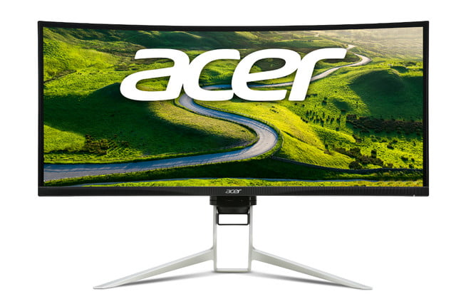 acer introduces xrc  cqk gaming display xr straight on header