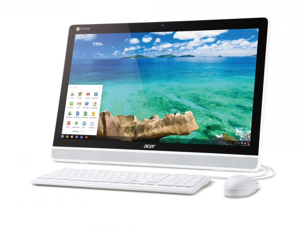 acer announces its chromebase the first chrome os all in one with touch display dc  hq