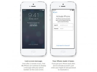 Apple Activation Lock for iOS 7