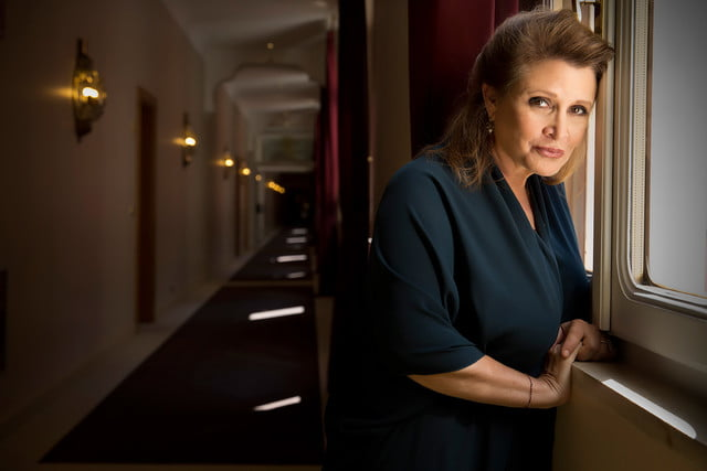 no cgi leia planned for star wars actress carrie fisher feat
