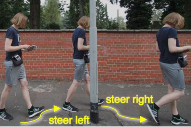 cruise control for pedestrians wearable pants news actuated navigation steering