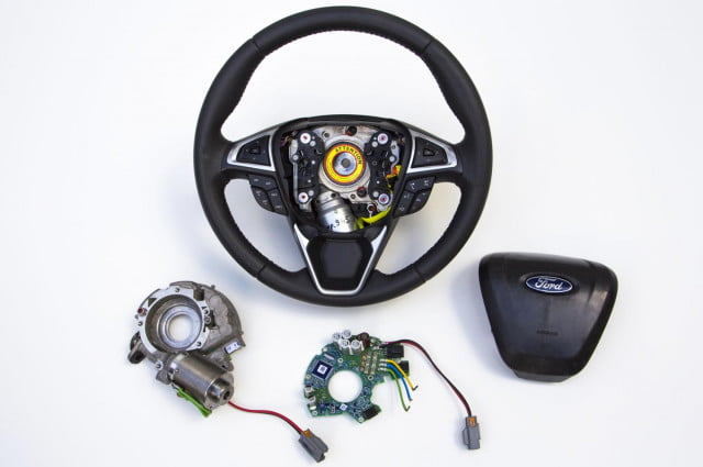 ford adaptive steering to launch within  months