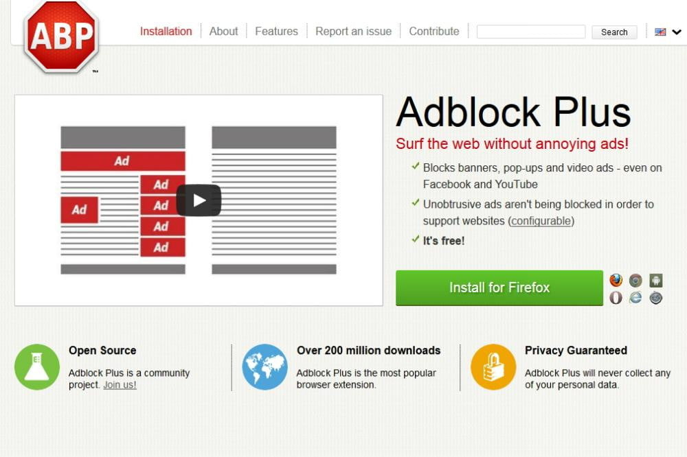 using adblock plus with firefox may slow your computer to a crawl