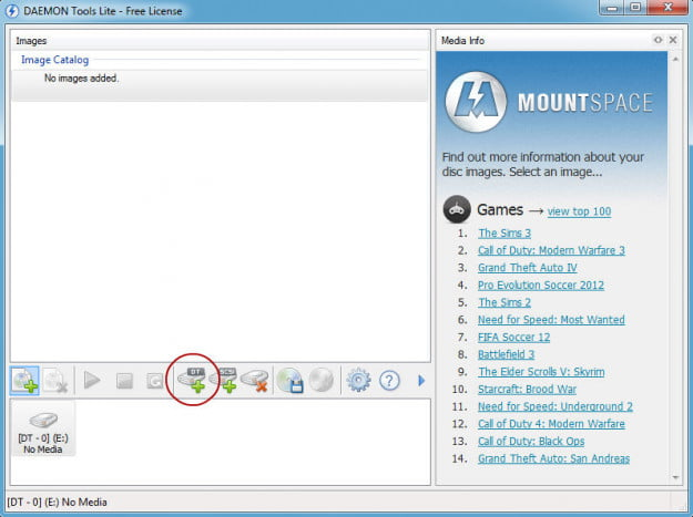 How to mount an ISO: Daemon Tools