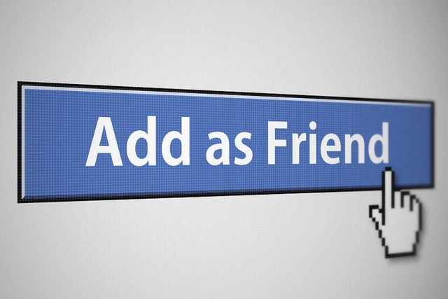 meet the woman who is meeting all of her facebook friends add as friend