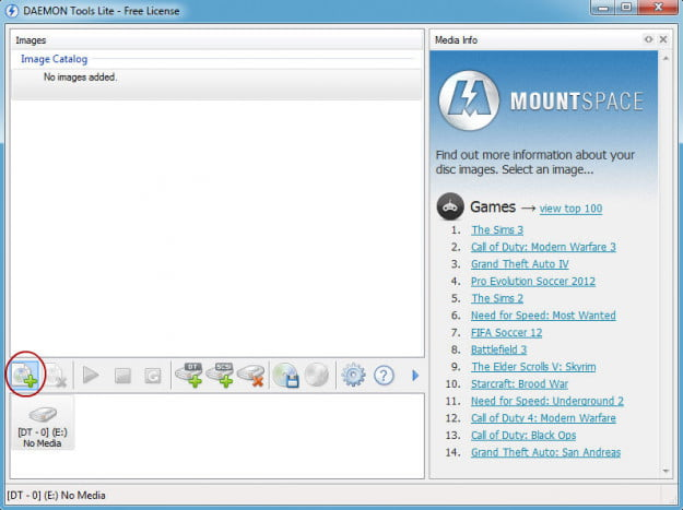 How to mount an ISO: Daemon Tools Add