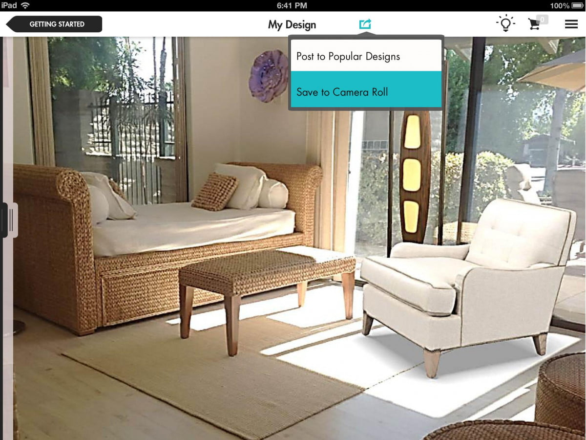 new ipad app adornably uses augmented reality help shop furniture